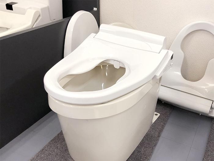 いい安座を設置したトイレ